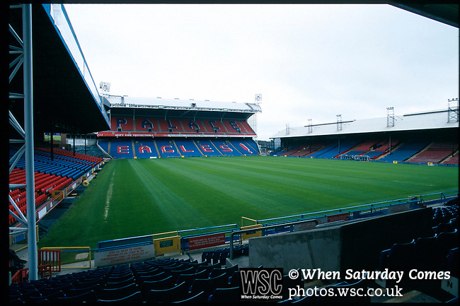 Selhurst Park, home of Crystal Palace FC. Photo by Tony Davis