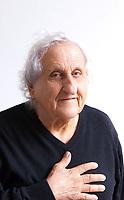 Abraham B. Yehoshua; é uno scrittore israeliano; insegna letteratura comparata presso l'Università di Haifa. Mantova 8 settembre 2019. © Leonardo Cendamo