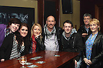 Aaron Jones, Gemma Allen, Trish Legear, Robert Jones, Michael Elliott, Jennifer Elliott and Bob Jones, Chairperson of MedAid 4 Kids in McHughs..Photo NEWSFILE/Jenny Matthews.(Photo credit should read Jenny Matthews/NEWSFILE)....This Picture has been sent you under the condtions enclosed by:.Newsfile Ltd..The Studio,.Millmount Abbey,.Drogheda,.Co Meath..Ireland..Tel: +353(0)41-9871240.Fax: +353(0)41-9871260.GSM: +353(0)86-2500958.email: pictures@newsfile.ie.www.newsfile.ie.FTP: 193.120.102.198.