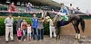 Rick the Bartender winning at Delaware Park racetrack on 7/3/14