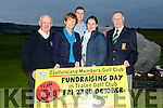Green smiles<br /> ------------------<br /> Members of Castleisland golf club launched their up coming fundraiser for the club last Friday evening, present were L-R Dan Nelligan, club committee, Catherine Horan, Lady Cpt, Paul Murphy, Murphy automated gates, sponsor, Mired Guirey, club sec and Donal De Barra, club Cpt