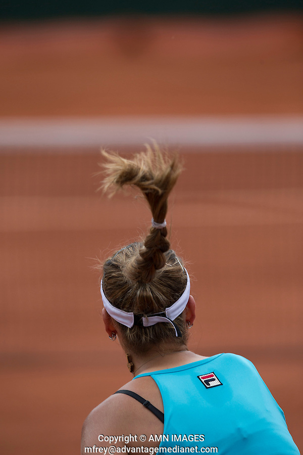 JOVANA JAKSIC (SRB)<br /> <br /> Tennis - French Open 2014 -  Toland Garros - Paris -  ATP-WTA - ITF - 2014  - France -  25 May 2014. <br /> <br /> &copy; AMN IMAGES