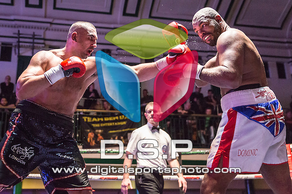 Ali Adams V Dominic Akinlade - Heavyweight Southern Area Title Contest. Photo by: Stephen Smith<br /> <br /> Saturday 5th Dec, 2015. - York Hall, Bethnal Green, London, United Kingdom.