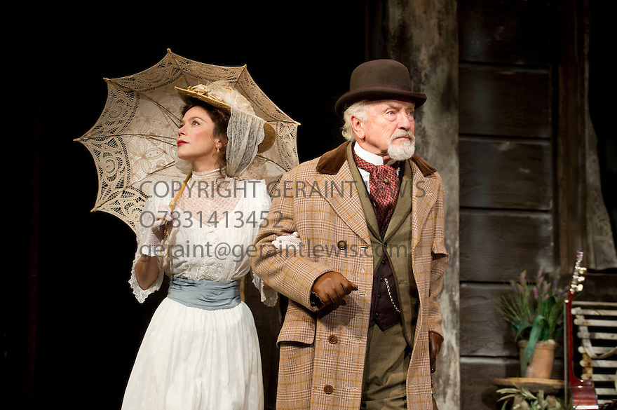 Uncle Vanya by Anton Chekov, translated by Christopher Hampton, directed by Lindsay Posner. With Anna Friel as Yelena, Paul Freeman as Serebryakov. Opens at The Vaudeville Theatre on 2/11/12. CREDIT Geraint Lewis