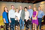 Enjoying the Tralee Bay Swimming Club and Tralee Triathlon Club Awards night at the Meadowlands Hotel on Saturday were Catherine McDonald, Ger McDonald, Catherine Gayson, Tom Brosnan, Valerie Ryan, Frank Ryan, Tina Barrett, Paudie Barrett