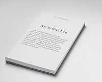 As is the Sea: An anthology of texts written by Critical Writing in Art and Design students, 2014