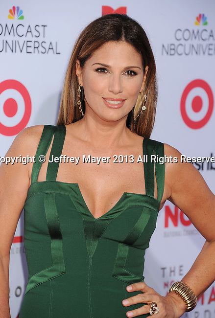 PASADENA, CA- SEPTEMBER 27: Actress Daisy Fuentes arrives at the 2013 NCLA ALMA Awards at Pasadena Civic Auditorium on September 27, 2013 in Pasadena, California.