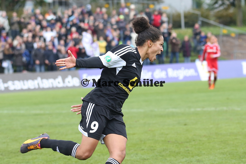 Celia Sasic (FFC) hat das 4:1 erzielt - 1. FFC Frankfurt vs. FC Bayern München