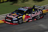 Jamie Whincup of Red Bull Racing Australia during the Clipsal 500, Event 01 of the 2015 Australian V8 Supercars Championship Series at the Adelaide Street Circuit, Adelaide, South Australia, February 27, 2015.<br /> &copy; Sport the library / Mark Horsburgh