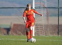 U19 Belgian Red Flames - Austria :<br /> <br /> Jessie Taets<br /> <br /> foto Dirk Vuylsteke / Nikonpro.be