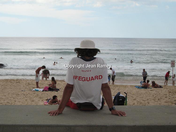 Aussie Lifeguard, Manly Beach