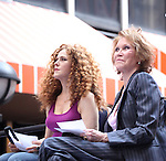 Bernadette Peters & Mary Tyler Moore .onstage at Broadway Barks 14 at the Booth Theatre on July 14, 2012 in New York City. Marking its 14th anniversary, Broadway Barks!, founded by Bernadette Peters and Mary Tyler Moore helps many of New York City's shelter animals find permanent homes and also inform New Yorkers about the plight of the thousands of homeless dogs and cats in the metropolitan area.