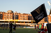 General view of a corner flag ahead of the Guinness PRO14 match between Cardiff Blues and Edinburgh Rugby at BT Sport Cardiff Arms Park, Cardiff, Wales on 1 September 2017. Photo by Mark  Hawkins.