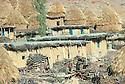 Iran 1979.Fall in a Kurdish village