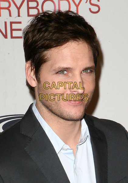 "PETER FACINELLI .Tribeca Film Institute's benefit screening of ""Everybody's Fine"", New York, NY, USA, 3rd December 2009..portrait headshot grey gray beard stubble blue shirt facial hair .CAP/ADM/PZ.©Paul Zimmerman/AdMedia/Capital Pictures."