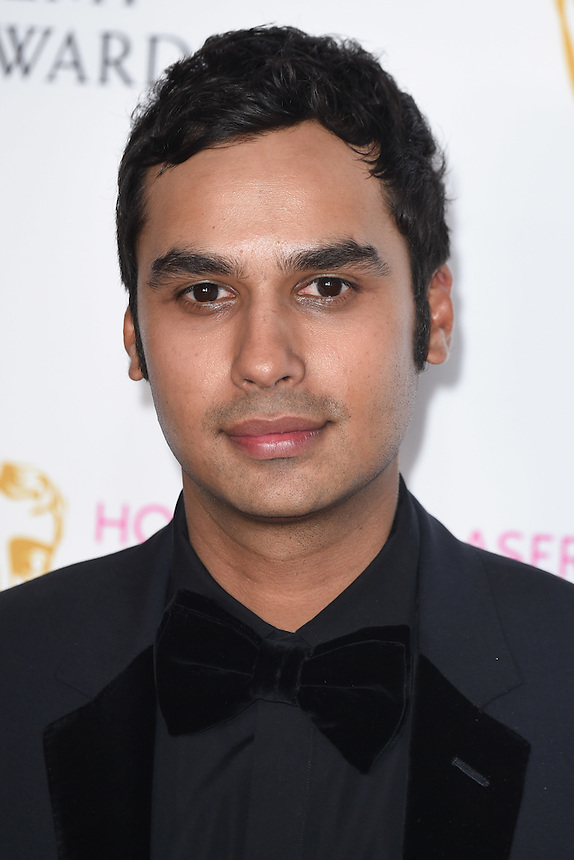 Kunal Nayyar<br /> in the winners room at the 2016 BAFTA TV Awards, Royal Festival Hall, London<br /> <br /> <br /> &copy;Ash Knotek  D3115 8/05/2016
