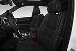 Front seat view of 2018 JEEP Grand-Cherokee Overland 5 Door SUV Front Seat  car photos