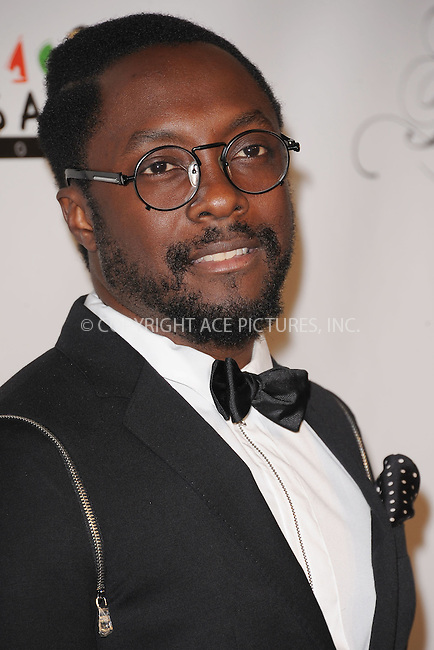 WWW.ACEPIXS.COM . . . . . .November 3, 2011, New York City....Will i am attends the 8th annual Keep A Child Alive Black Ball at the Hammerstein Ballroom on November 3, 2011 in New York City....Please byline: KRISTIN CALLAHAN - ACEPIXS.COM.. . . . . . ..Ace Pictures, Inc: ..tel: (212) 243 8787 or (646) 769 0430..e-mail: info@acepixs.com..web: http://www.acepixs.com .