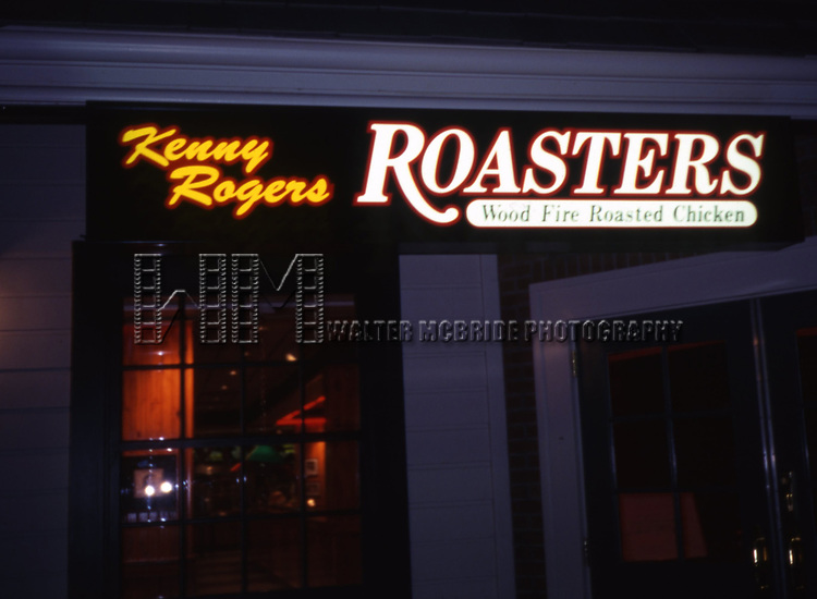 Kenny Rogers Roasters Restaurant on February 1, 1995 in Las Vegas, Nevada.