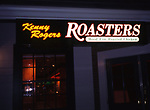 Kenny Rogers Roasters Restaurant on February 1, 1995 in Las Vegas, Nevada.