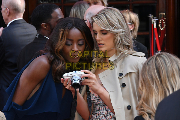 LONDON, ENGLAND - MARCH 15: AJ Odudu, Ashley James at the Prince's Trust and Samsung Celebrate Success Awards 2017, The London Palladium, Argyll Street, London, England, UK, on Wednesday 15 March 2017.<br /> CAP/JOR<br /> &copy;JOR/Capital Pictures