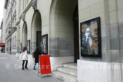 Genève, le 20.02.2008.théatre de la comédie..© Le Courrier / J.-P. Di Silvestro