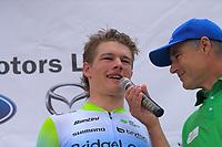 Jensen Plowright (Australia/Team BridgeLane). Stage five of the NZ Cycle Classic UCI Oceania Tour (Masterton Circuit) in Wairarapa, New Zealand on Sunday, 19 January 2020. Photo: Dave Lintott / lintottphoto.co.nz