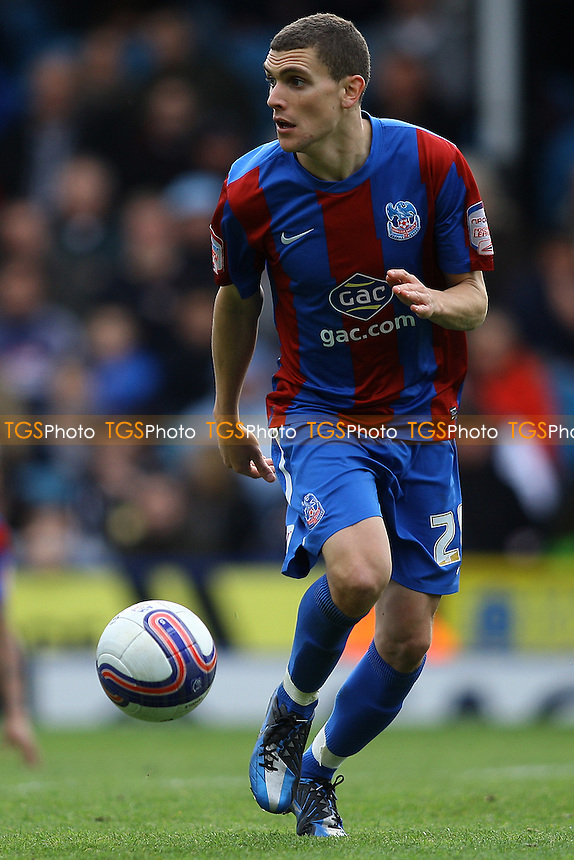 Stuart O'Keefe of Crystal Palace- Crystal Palace vs Ipswich Town - nPower Championship Football at Selhurst Park, London - 14/04/12 - MANDATORY CREDIT: George Phillipou/TGSPHOTO - Self billing applies where appropriate - 0845 094 6026 - contact@tgsphoto.co.uk - NO UNPAID USE.