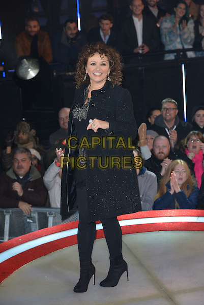 Nadia Sawalha<br /> Celebrity Big Brother launch night on Wednesday, 7th January 2015, Borehamwood, Hertfordshire.<br /> CAP/PL<br /> &copy;Phil Loftus/Capital Pictures