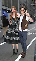 August 25, 2012 Karen Gillan, Matt Smith attend the US premiere  screening  of Doctor Who  at the Ziegfeld Theatre in New York City.Credit:&copy; RW/MediaPunch Inc. /NortePhoto.com<br />