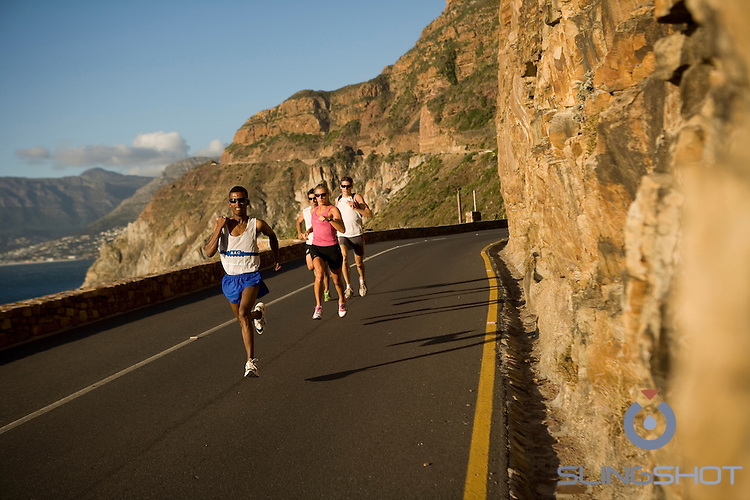 Generic Running shots, Chapman's Peak Cape Town South Africa