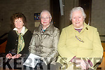 Helen McElligott, Maureen Hanifan, Mary Collins enjoying Kerry Choral Union with  Junior Choir at a  St Patrick's Weekend concert in aid of Recovery Haven, Kerry Cancer Support House at St. Brendan's Church Tralee on Sunday