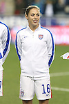 24 October 2014: Meghan Klingenberg (USA). The United States Women's National Team played the Mexico Women's National Team at PPL Park in Chester, Pennsylvania in a 2014 CONCACAF Women's Championship semifinal game, which serves as a qualifying tournament for the 2015 FIFA Women's World Cup in Canada. The United States won the game 3-0. With the victory the U.S. advanced to the championship game and qualified for next year's Women's World Cup.
