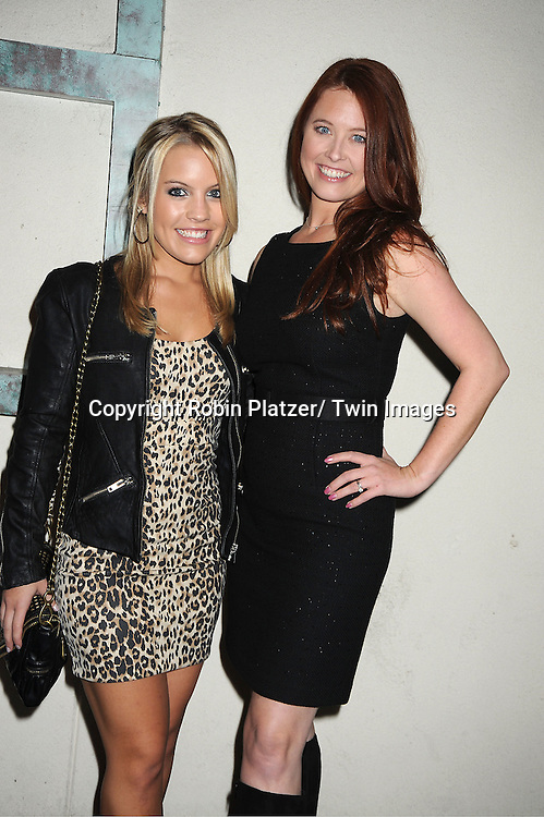Kristen Alderson and Melissa Archer attend the Center for Hearing and Communication 18th Annual Feast on October 24, 2011 at Pier Sixty in Chelsea Piers in New York City.