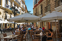 Spanien, Andalusien, Cadiz: Restaurant Atxuri in der Calle Plocia | Spain, Andalusia, Cadiz: Restaurant Atxuri on the Calle Plocia