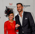 May 4, 2019 : Red carpet arrivals on Kentucky Derby Day at Churchill Downs on May 4, 2019 in Louisville, Kentucky. John Voorhees/Eclipse Sportswire/CSM