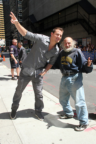 June 27, 2012 Channing Tatum at Late Show with David Letterman in New York City to talk about his new film, 'Magic Mike'. © RW/MediaPunch Inc.