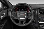 Car pictures of steering wheel view of a 2019 Dodge Durango GT 5 Door SUV