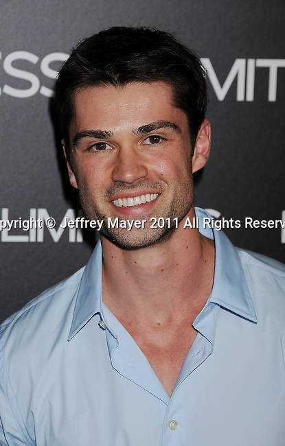 """HOLLYWOOD, CA - MARCH 03: Corey Sevier  attends the Los Angeles special screening of """"Limitless"""" at ArcLight Cinemas Cinerama Dome on March 3, 2011 in Hollywood, California."""