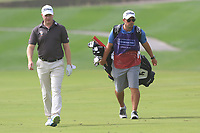 Richard McEvoy (ENG) on the 1st fairway during Round 1 of the Omega Dubai Desert Classic, Emirates Golf Club, Dubai,  United Arab Emirates. 24/01/2019<br /> Picture: Golffile | Thos Caffrey<br /> <br /> <br /> All photo usage must carry mandatory copyright credit (&copy; Golffile | Thos Caffrey)