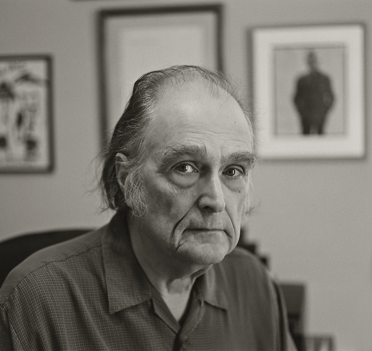 Clark Coolidge, 2010.  Poet.