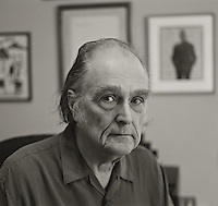 Clark Coolidge, 2010.  Poet.