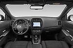 Stock photo of straight dashboard view of a 2020 Mitsubishi ASX Intense 5 Door SUV
