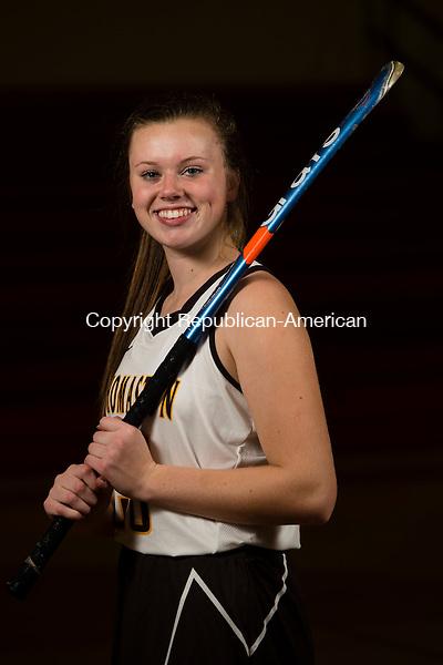MILFORD, CT- 20 November 2015-112015EC04-  Gabrielle Hurlbert is a senior on the Thomaston field hockey team. Erin Covey Republican-American