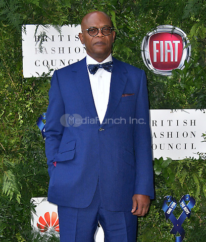 Samuel L Jackson at Charity ball in aid of One For The Boys, a charity raising awareness of male forms of cancer, encouraging men to get checked regularly. Evening celebrates the launch of the 2016 campaign film The Difference, at Victoria and Albert Museum, London, England June 12, 2016.<br /> CAP/JOR<br /> &copy;JOR/Capital Pictures /MediaPunch ***NORTH AND SOUTH AMERICAS ONLY***