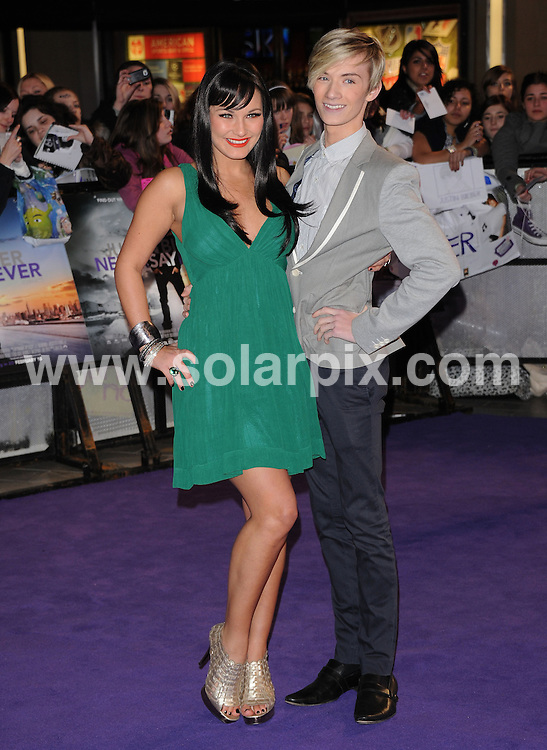 **ALL ROUND PICTURES FROM SOLARPIX.COM**                                             **WORLDWIDE SYNDICATION RIGHTS**                                                                                  Arrivals at the European premiere of Never Say Never..Held at Cineworld, the 02 Arena, Greenwich, London, on Wednesday February 16, 2011.                                                                           .This pic:     Sam Faiers & Harry Derbidge                                                                               .JOB REF:    12813    SSD       DATE:   17.02.11                                                         **MUST CREDIT SOLARPIX.COM OR DOUBLE FEE WILL BE CHARGED**                                                                      **MUST AGREE FEE BEFORE ONLINE USAGE**                               **CALL US ON: +34 952 811 768 or LOW RATE FROM UK 0844 617 7637**