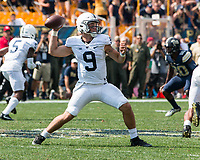 Penn State quarterback Trace McSorley. The Pitt Panthers defeated the Penn State Nittany Lions 42-39 at Heinz Field, Pittsburgh, Pennsylvania on September 10, 2016.