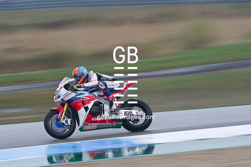 2016 FIM Superbike World Championship, Round 04, Assen, Netherlands, 15-18 April 2016, Michael VD Mark, Honda