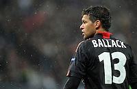 FUSSBALL   CHAMPIONS LEAGUE   SAISON 2011/2012  Bayer 04 Leverkusen - FC Valencia           19.10.2011 Michael BALLACK (Bayer 04 Leverkusen)