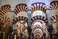 SPAIN, Cordoba, Mezquita, mosque and cathedral, prayer hall